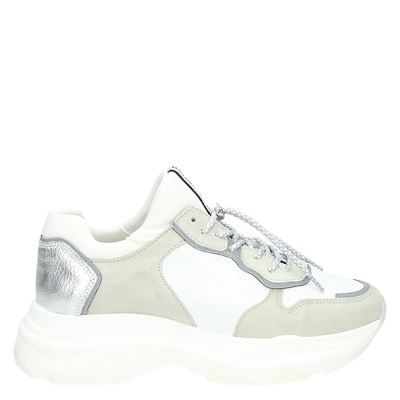 Bronx dames sneakers zilver