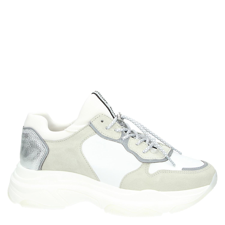 Bronx Papa Trapu Bas Argent Baskets Sneakers s7o8MFhDk