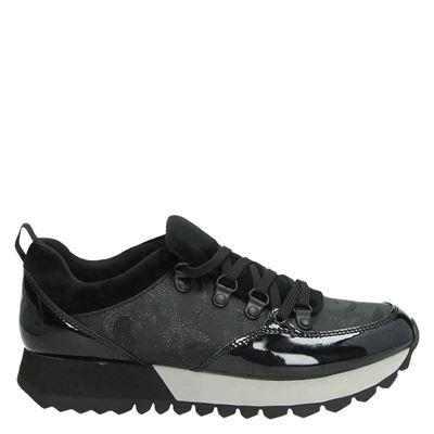 S.Oliver dames sneakers zwart