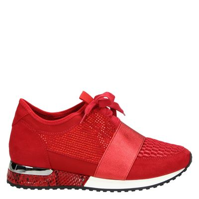 La Strada dames sneakers rood
