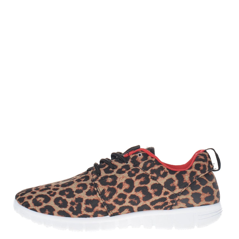 Blink Dames Sneakers Blink Dames Lage Bruin 0xR5Ewq1