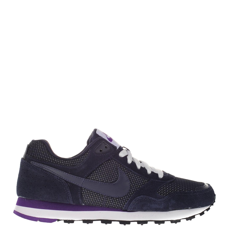 Nike MD Runner dames lage sneakers blauw
