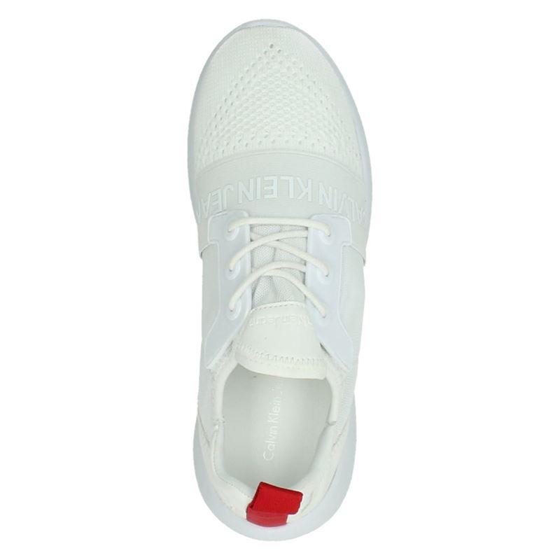 Calvin Klein Meryl - Lage sneakers - Wit