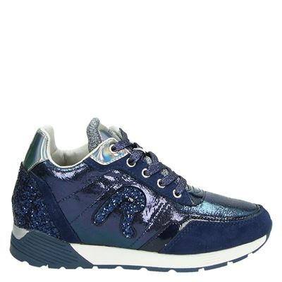 Replay dames sneakers blauw