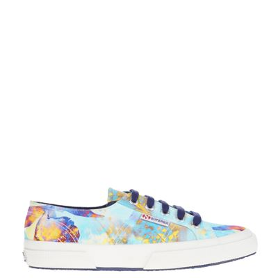 Superga dames sneakers blauw