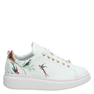 Ted Baker dames lage sneakers wit