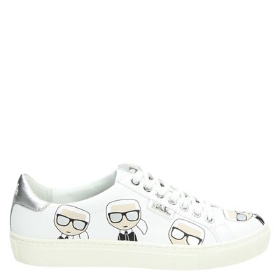 Karl Lagerfeld dames sneakers wit