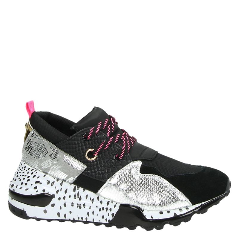Steve Madden Cliff - Dad Sneakers - Zwart