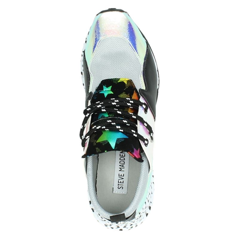 Steve Madden Cliff - Dad Sneakers - Zilver