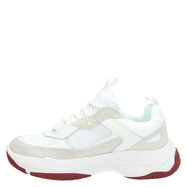 Dad Sneakers Maya Calvin Wit Dames Klein qaFgUfZt