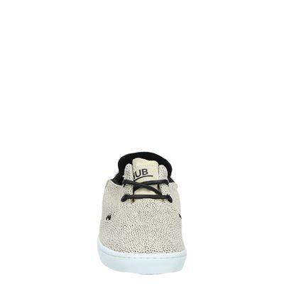 Hub dames lage sneakers Beige