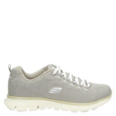 Skechers dames sneakers taupe