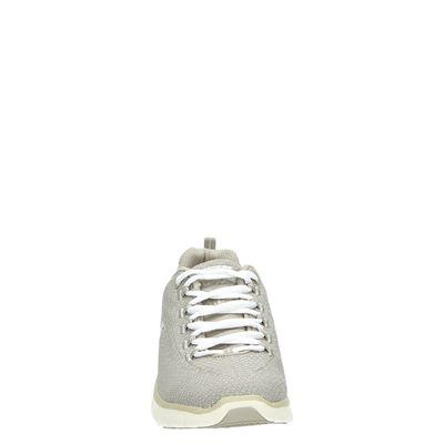 Skechers dames lage sneakers Taupe