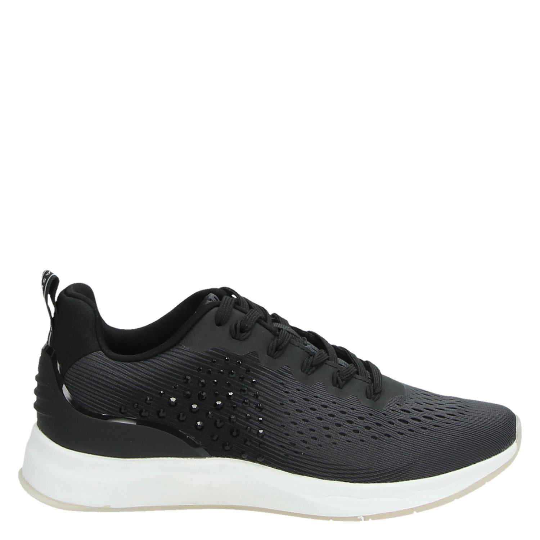 2ecc7a1ba30 Tamaris Fashletics by Tamaris dames lage sneakers zwart