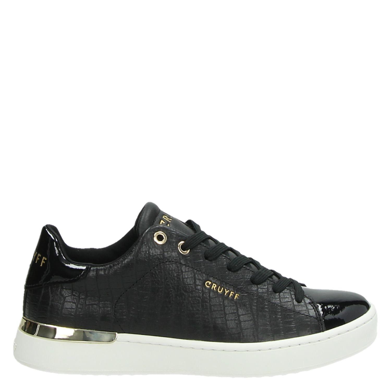 Cruyff Patio dames lage sneakers zwart