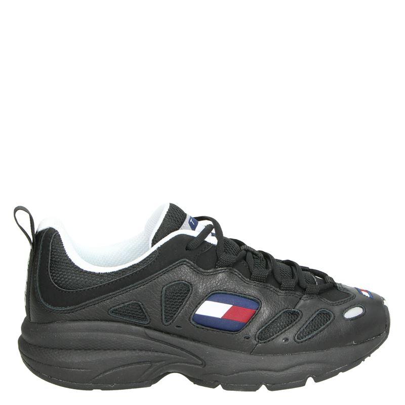 Tommy Jeans - Lage sneakers - Zwart