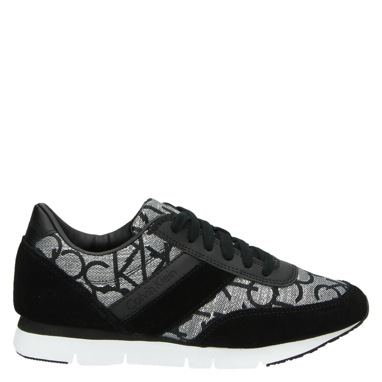 6ff47684898 Calvin Klein Tea dames lage sneakers zwart