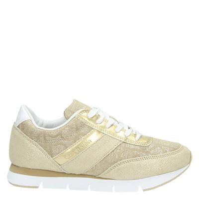 Calvin Klein dames sneakers goud