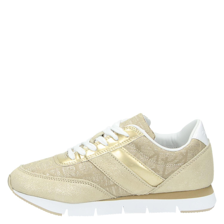 0319b959f3b Calvin Klein Tea dames lage sneakers goud