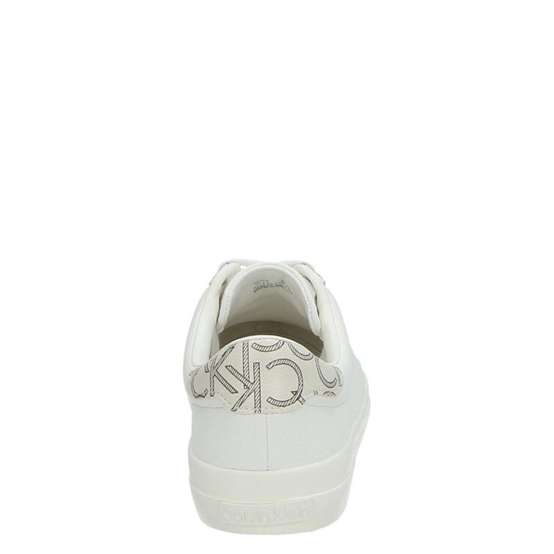 Calvin Klein Vance - Lage sneakers - Wit