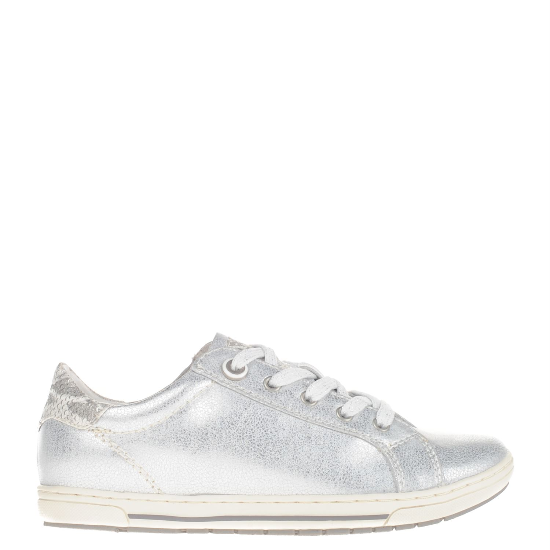Marco Dames Sneakers Tozzi Zilver Lage AqAYrwX