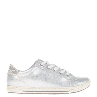 Marco Tozzi dames sneakers zilver