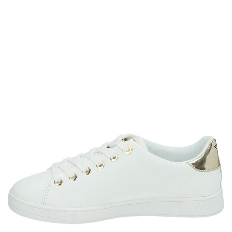 Guess Carterr - Lage sneakers - Wit