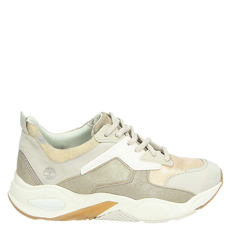 Dames Sneakers Ecru Lage Delphiville Timberland DHYWIE29