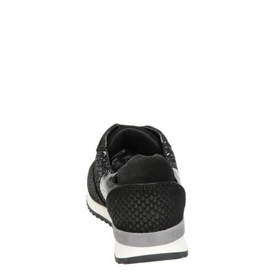 Hobbs dames lage sneakers Zwart