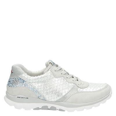 Gabor dames lage sneakers ecru