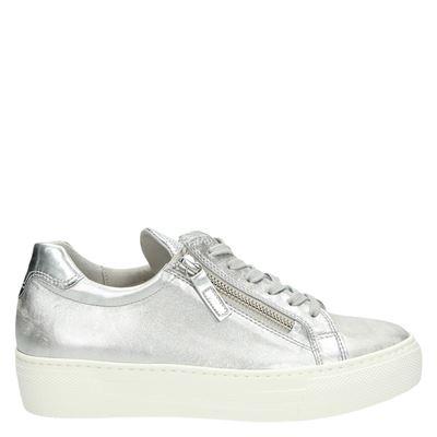 Gabor dames sneakers zilver