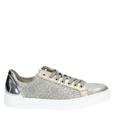 Rieker dames sneakers taupe