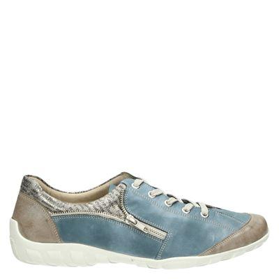 Remonte dames veterschoenen blauw