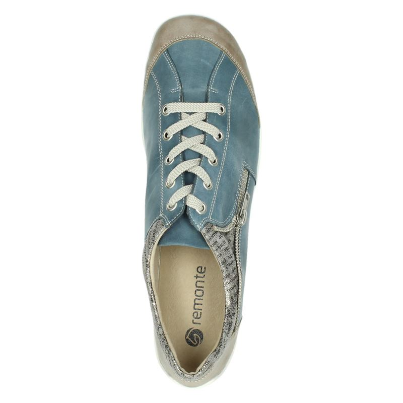Remonte - Veterschoenen - Blauw