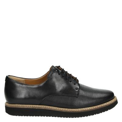 Clarks dames veterschoenen zwart
