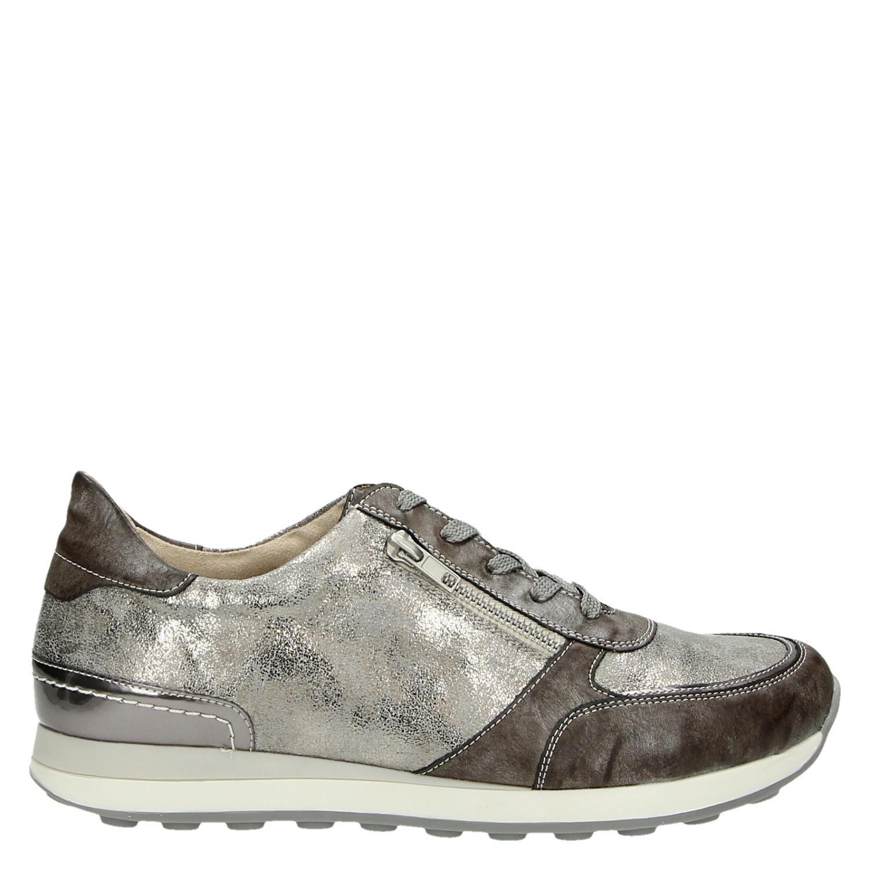 Remonte lage sneakers bruin