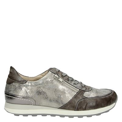 Remonte dames lage sneakers Bruin
