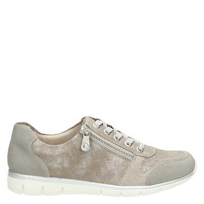 Rieker dames sneakers beige