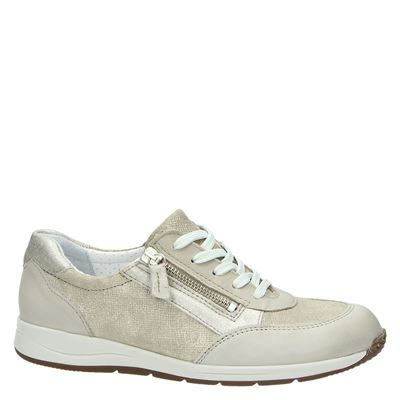 Nelson dames lage sneakers Goud