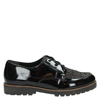 Remonte dames sneakers zwart