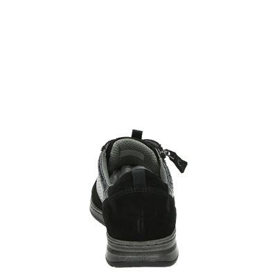 Jenny dames veterschoenen Zwart