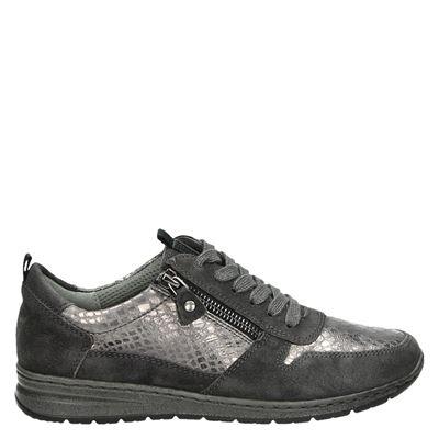 Jenny dames veterschoenen grijs