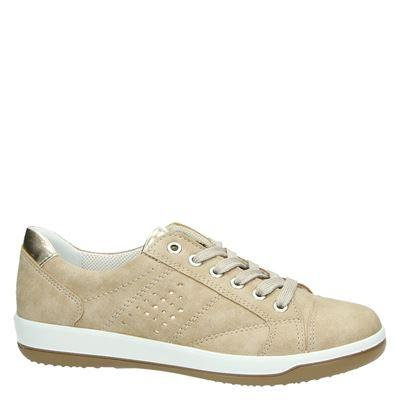 Jenny dames lage sneakers Beige