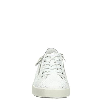 Remonte dames lage sneakers Wit