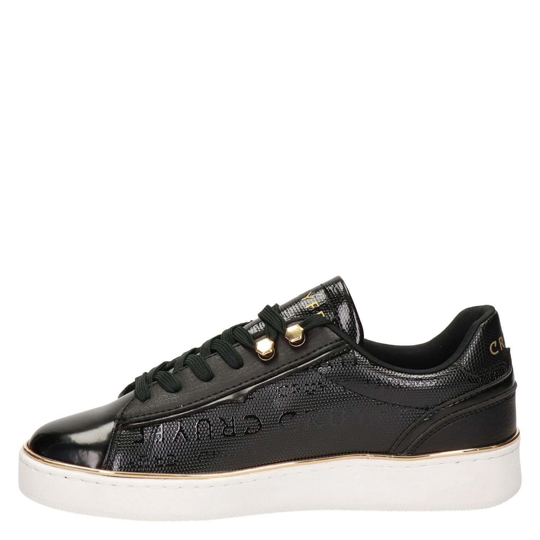 Cruyff Challenge Lage sneakers voor dames Zwart Nelson.nl