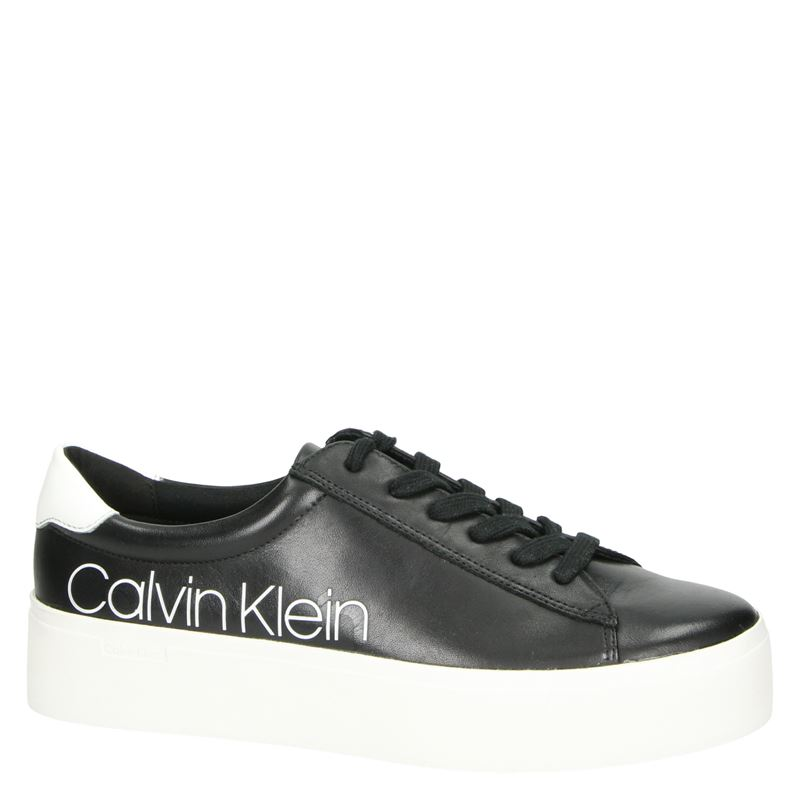 Calvin Klein Janika - Platform sneakers - Zwart