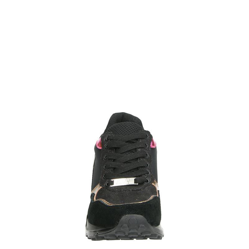 Steve Madden Chrome - Dad Sneakers - Zwart