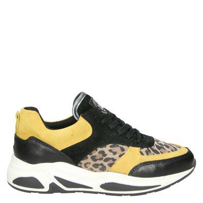 Bullboxer dames dad sneakers geel