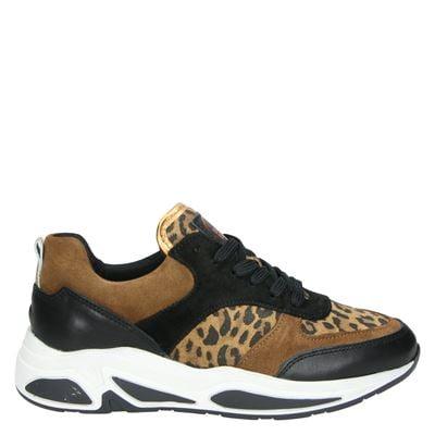 Bullboxer dames dad sneakers cognac