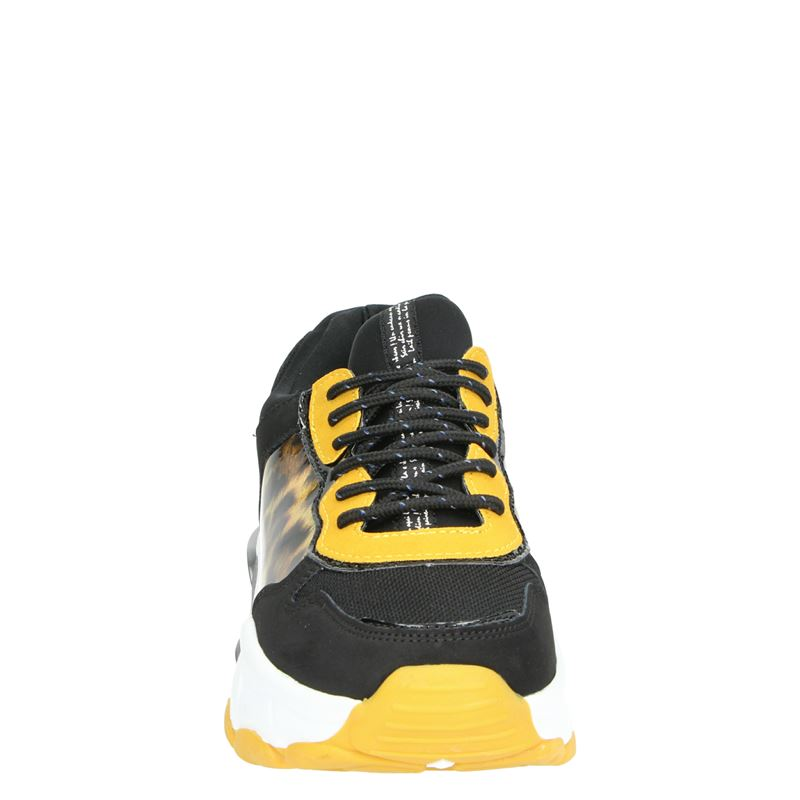 PS Poelman - Dad Sneakers - Zwart